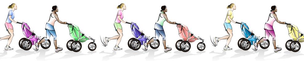 Barnvagnarna invaderar våra gator och torg