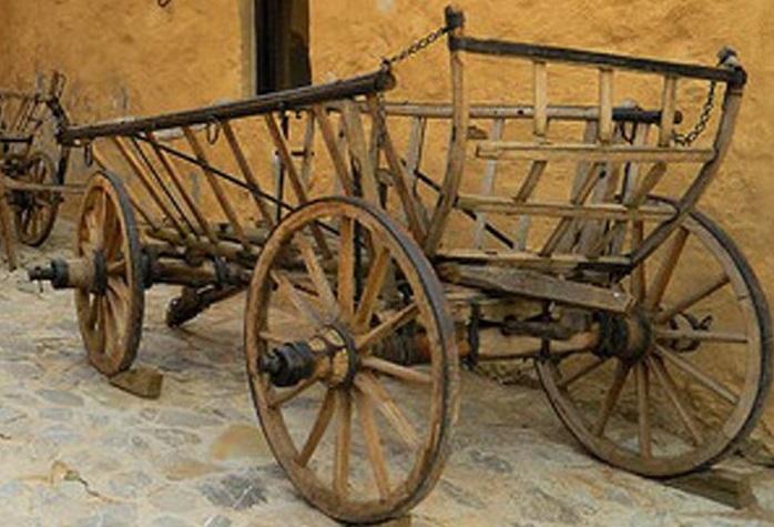 Vår gamla säng: medeltidskärran
