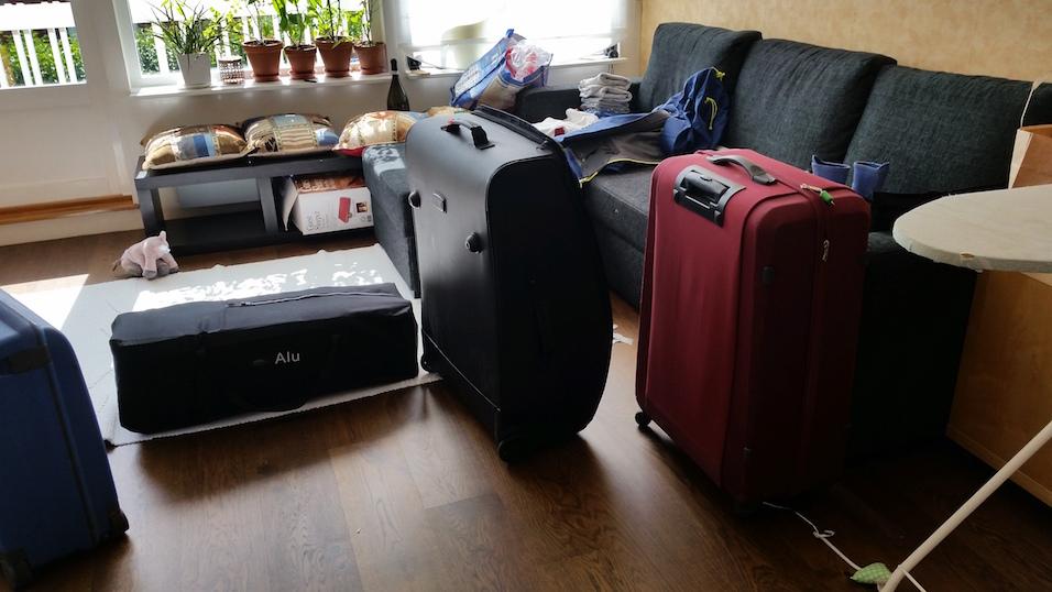 Lätt packning inför flygresan