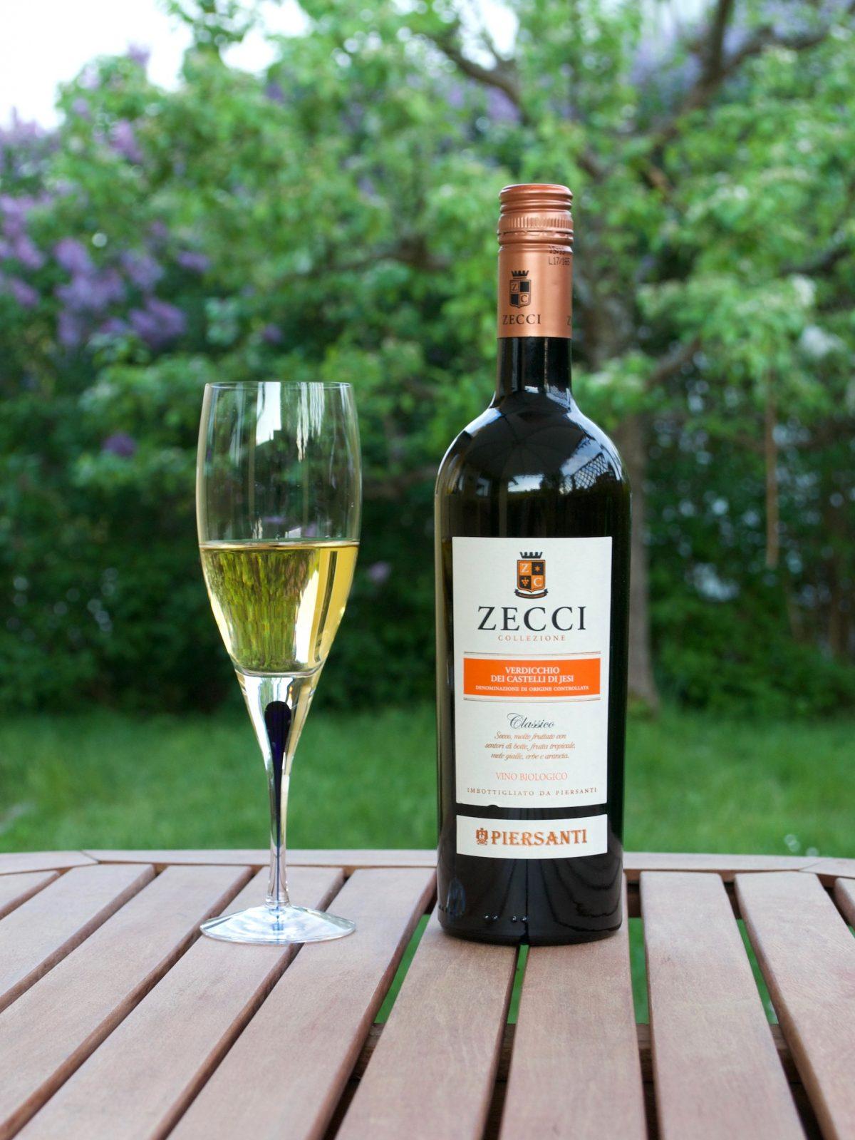 ZECCI vitt vin till fiskrätter eller ensamt