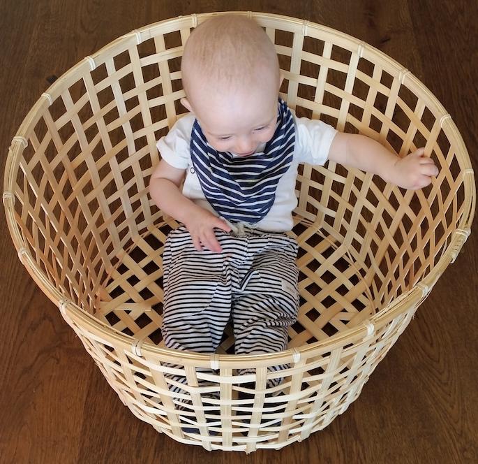 Simon i tvättkorgen