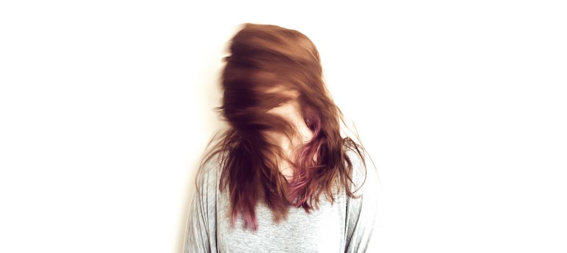 grått hår