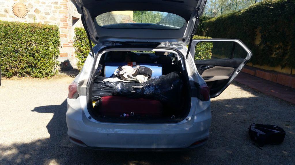 bilresa med småbarn