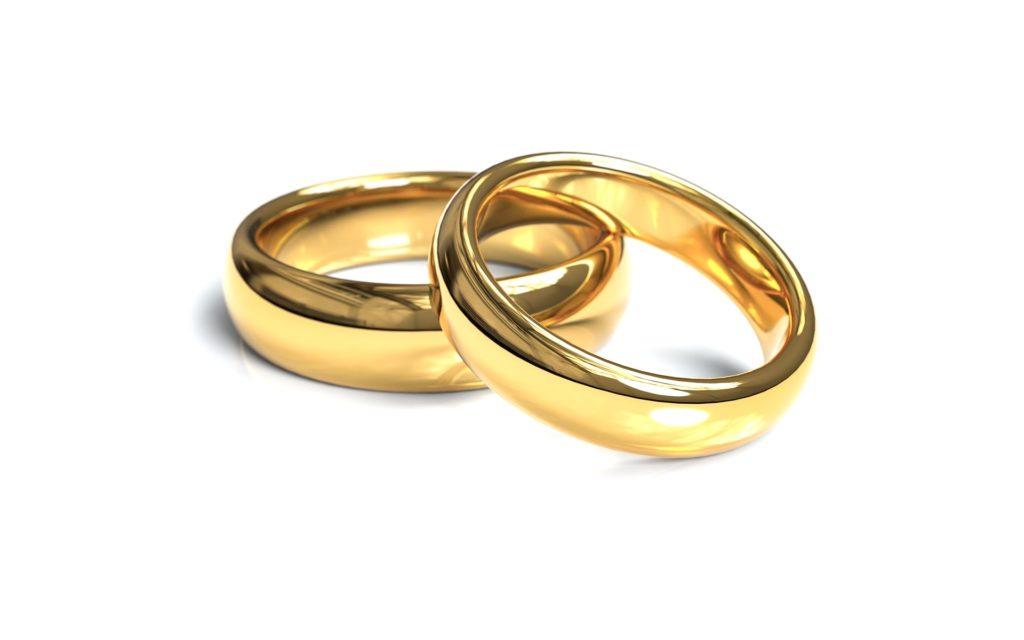 äktenskap ring bröllop