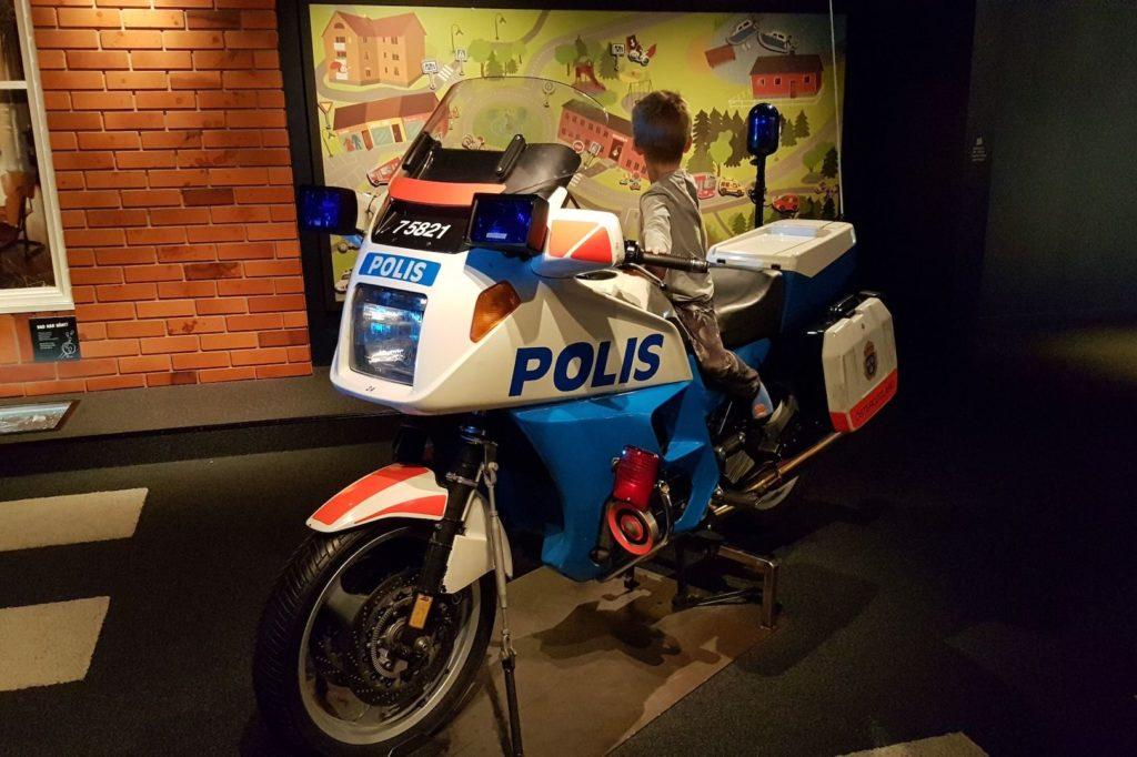 polismuseet motorcykel