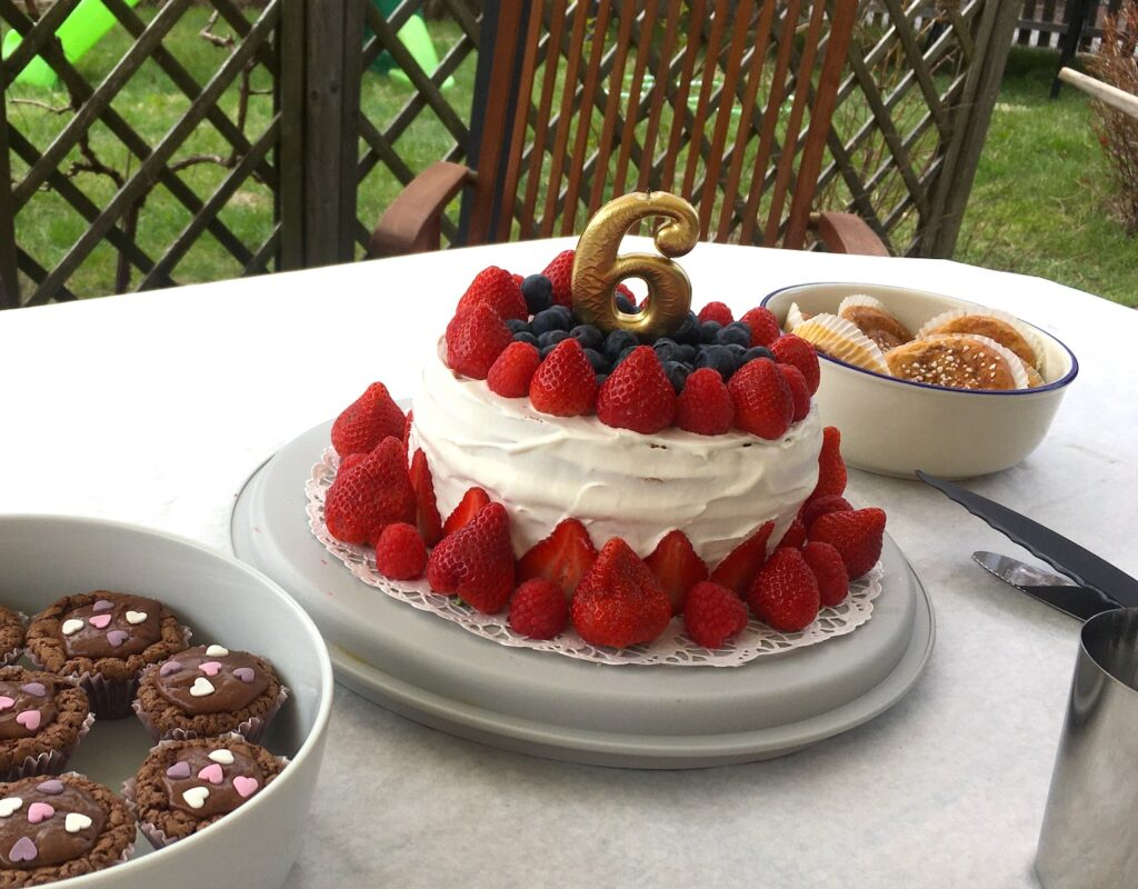 födelsedagsfika 6 år